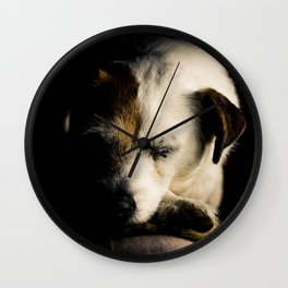 After a Hard Day Wall Clock