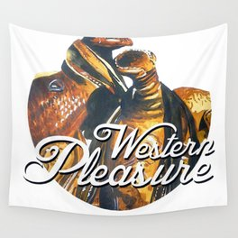 Western Pleasure Wall Tapestry