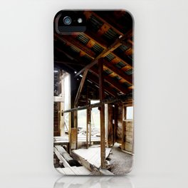 Exploring the Longfellow Mine of the Gold Rush - A Series,No. 5 of 9 iPhone Case