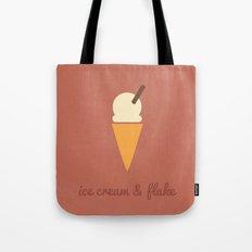 Sweet Tooth - Ice Cream & Flake Tote Bag