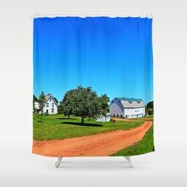Stunning PEI Farm Shower Curtain
