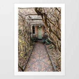 Old Door - Launceston Art Print
