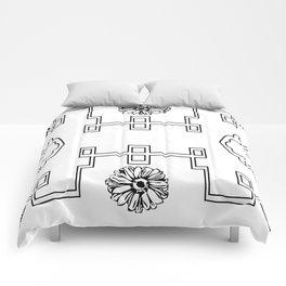 Bee Menagerie Comforters
