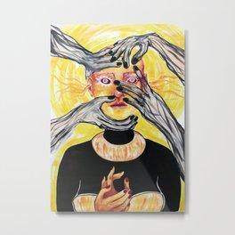 The Nightmares of an Angel Metal Print
