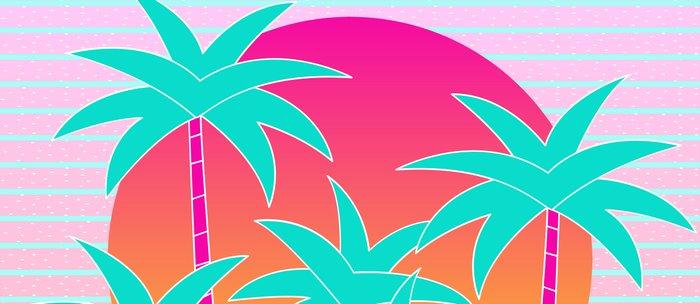 Hello Miami Sunset Coffee Mug