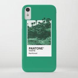 PANTONE SERIES – RAINFOREST iPhone Case