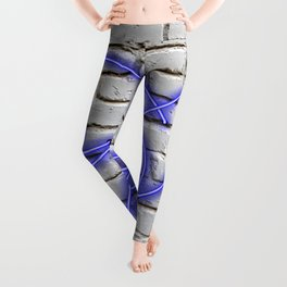 Peace Pigeon Brick- The Copy is a Hommage Leggings