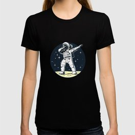 Dabbing Astronaut Funny Space Dance T-shirt