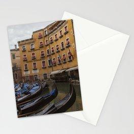 Venice. The rain Stationery Cards
