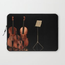 String Instruments Laptop Sleeve