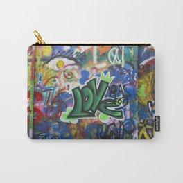 TEL AVIV, ISRAEL - Love Graffiti Carry-All Pouch