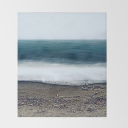 In the Ocean Deep Throw Blanket