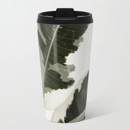 Variegated Rubber Plant 03 Travel Mug