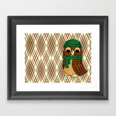owl 2 Framed Art Print