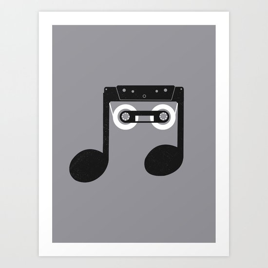 Analog Music Art Print