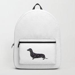 black teckel Backpack