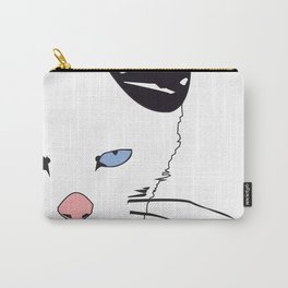 Punk Cat Carry-All Pouch