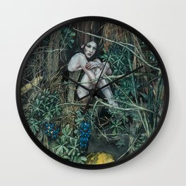 Anima Shakti Wall Clock