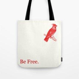 Lady Redbird Tote Bag