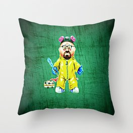 Making Bad Throw Pillow