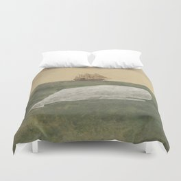 Far From Nantucket  Duvet Cover