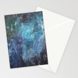 Evening Blooms Stationery Cards