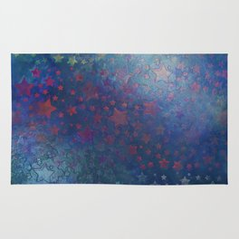 """""""Night of stars and dreams"""" Rug"""