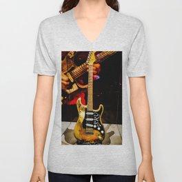 Stevie Ray Vaughan - #1 Guitar Unisex V-Neck