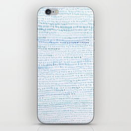 BLUE/GREEN DOTTED PATTERN  iPhone Skin
