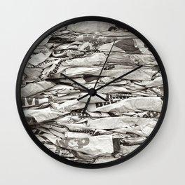 Paper Wall Clock