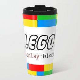 CSS Pun - Lego Travel Mug