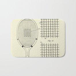 Tennis and Similar Racket-1925 Bath Mat
