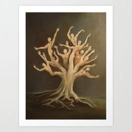 """Deforestation"" Art Print"