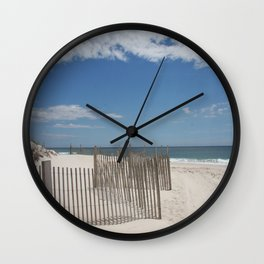 Long Island Beach Wall Clock