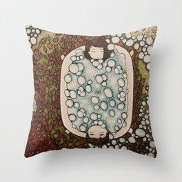 spanning seasons Throw Pillow