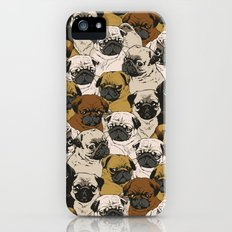 Social Pugz iPhone (5, 5s) Slim Case