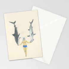 The Shark Charmer Stationery Cards