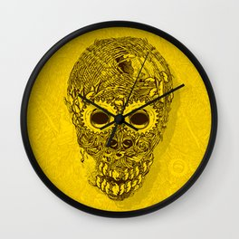WILD GRASS Wall Clock