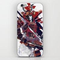 samurai iPhone & iPod Skins featuring Samurai by Kent Floris