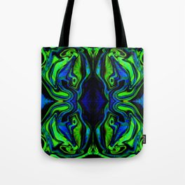 Crazy Color Waterflow Tote Bag