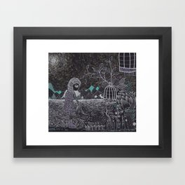Living Green Framed Art Print