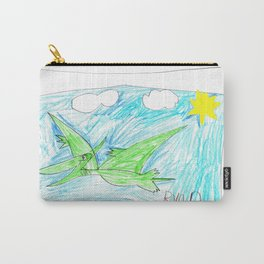 Flying Pteranodon Carry-All Pouch