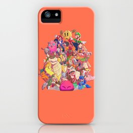 Down-B iPhone Case