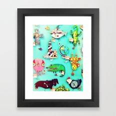Crazy Time Framed Art Print