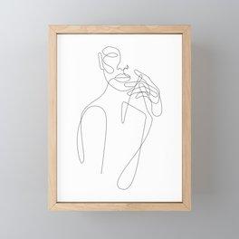 Girls Touch Framed Mini Art Print