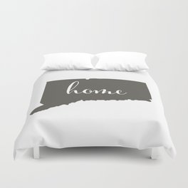 Connecticut is Home Duvet Cover