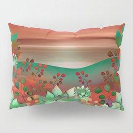 """Naif tropical colorful landscape"" Pillow Sham"