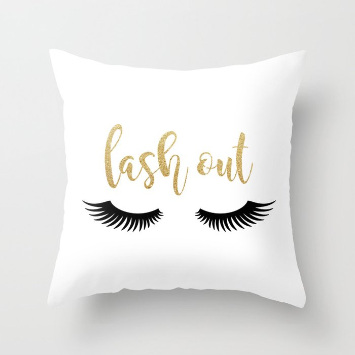 7b76104c2b4 Lash Out Throw Pillow by avenger | Society6