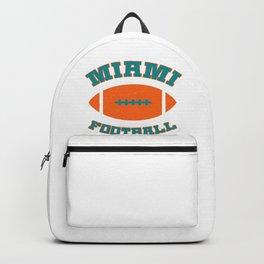 Miami Football Backpack