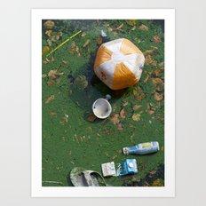 rubbish Art Print